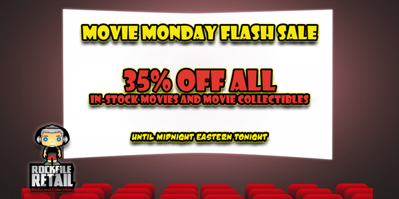 MOVIE MONDAY FLASH SALE