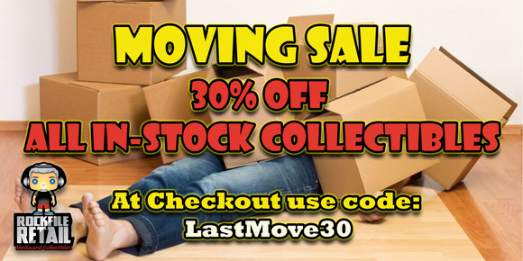 MOVING SALE 30% OFF!