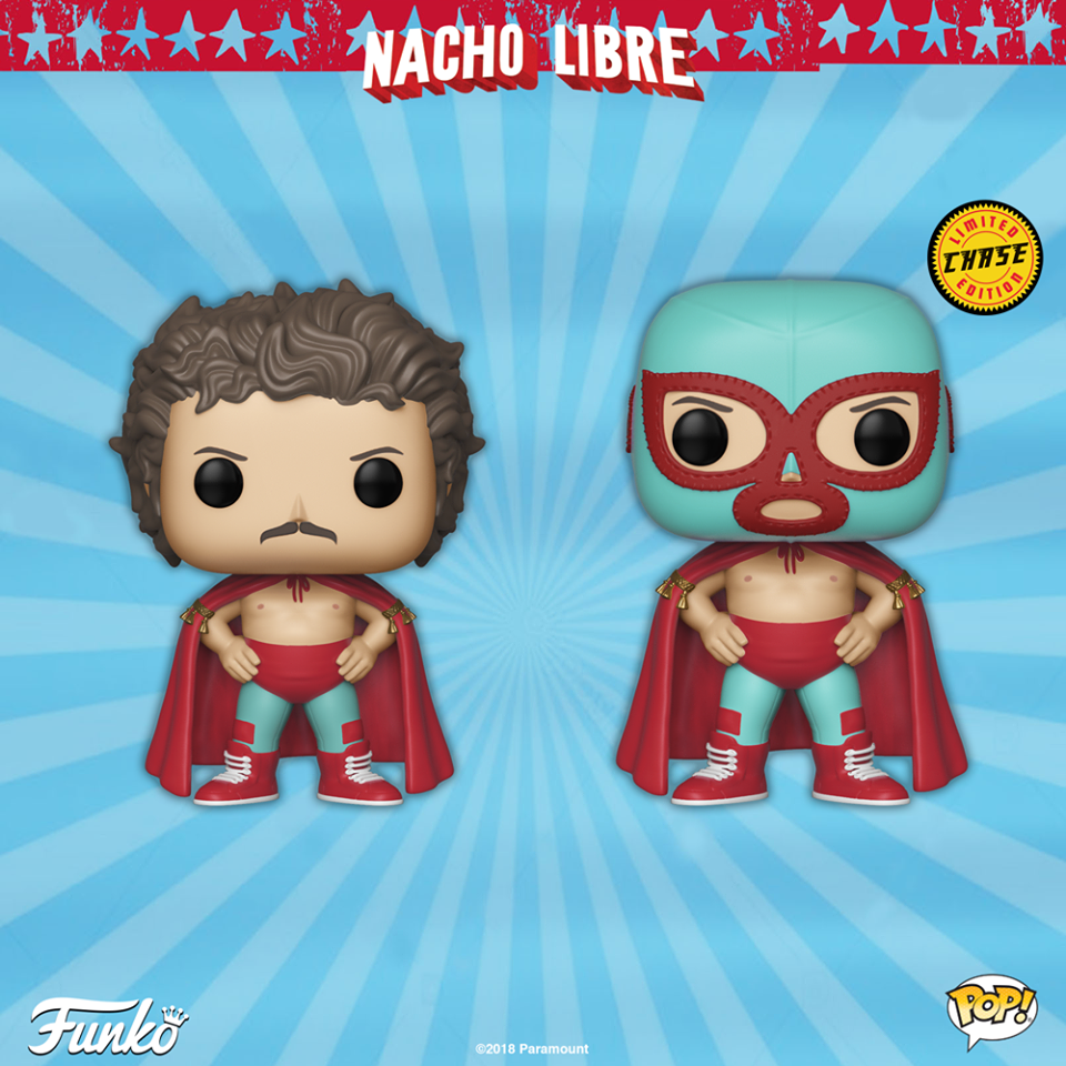 Funko POP! NACHO LIBRE Announced