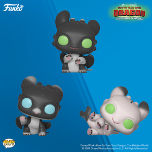 Funko POP! How To Train Your Dragon The Hidden World NIGHT LIGHTS Are Coming
