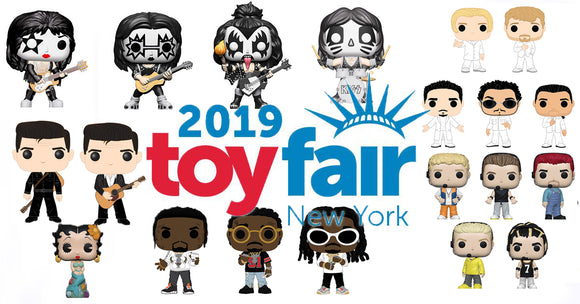NEW YORK TOY FAIR 2019 REVEALS