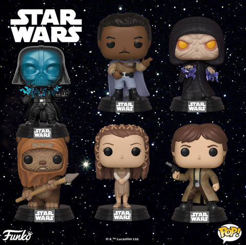 Funko POP! Star Wars RETURN OF THE JEDI Coming Soon