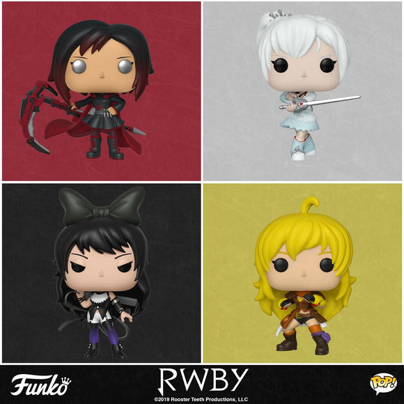 RWBY IS FINALLY COMING TO FUNKO POP!