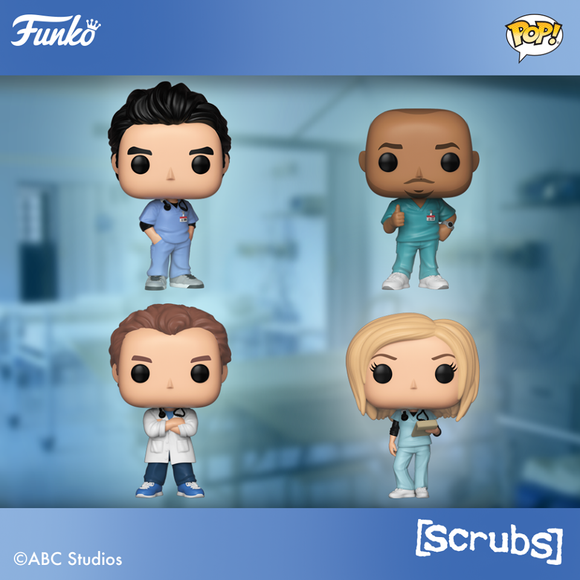 FUNKO POP! SCRUBS Are Coming