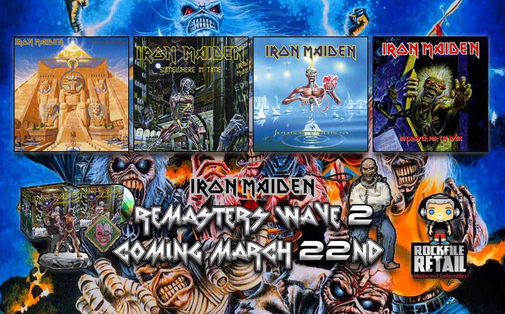 IRON MAIDEN Remasters Wave 2