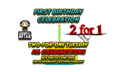 Today's Sales Event: TWO FOR ONE TUESDAY