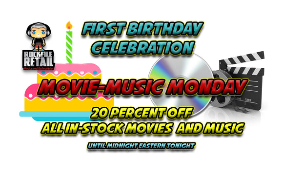 MOVIE-MUSIC MONDAY SALE
