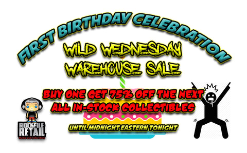 WILD WEDNESDAY WAREHOUSE SALE
