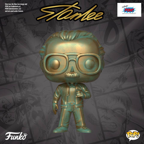 Funko POP! Icons STAN LEE (patina) is coming in March