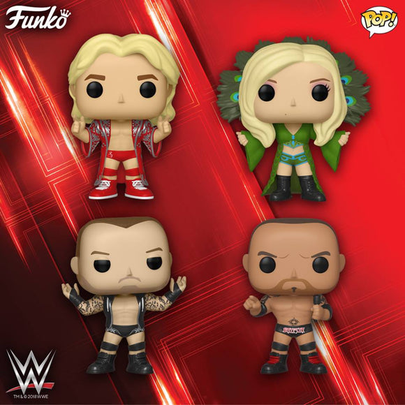 A new line of Funko POP! WWE is coming in February