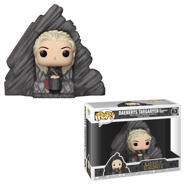 POP Deluxe: Game Of Thrones Series 8 - Daenerys on Dragonstone Throne