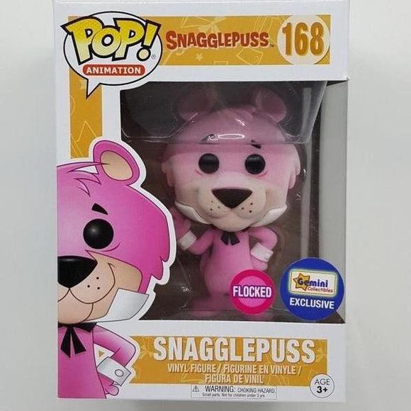 POP! Animation Snagglepuss (flocked exclusive)