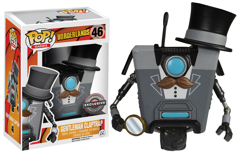 POP! Games Borderlands Claptrap (Gentleman) (exclusive)