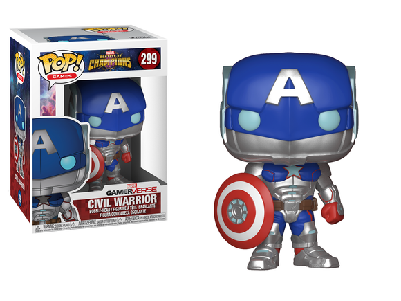 POP! Games Marvel COC Civil Warrior