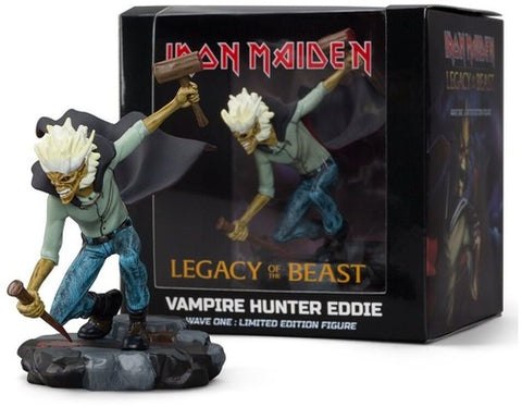 Iron Maiden Vampire Hunter Eddie Figure