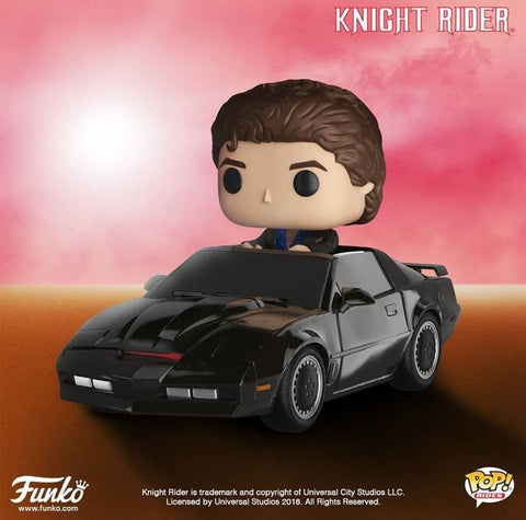POP! Rides Knight Rider Michael Knight with KITT
