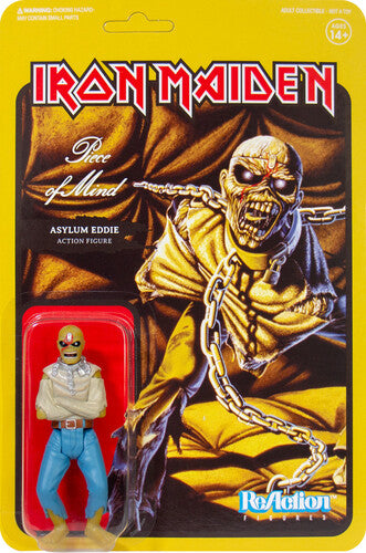 IRON MAIDEN - Reaction Figure: Piece of Mind (Album Art) (PRE-ORDER)