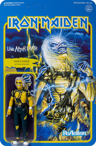 IRON MAIDEN - Reaction Figure:  Live After Death (Album Art) (PRE-ORDER)