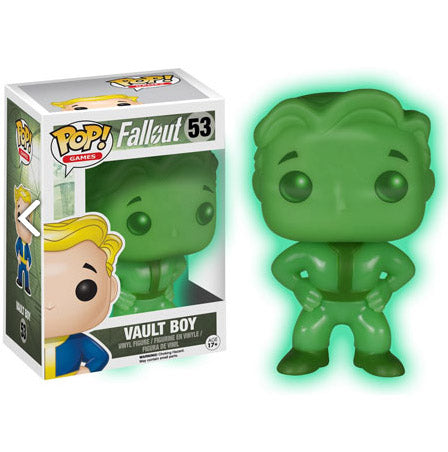 POP! Games Fallout Vault Boy (GITD exclusive)