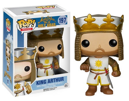 POP! Movies Monty Python And The Holy Grail KING ARTHUR (Not MINT)