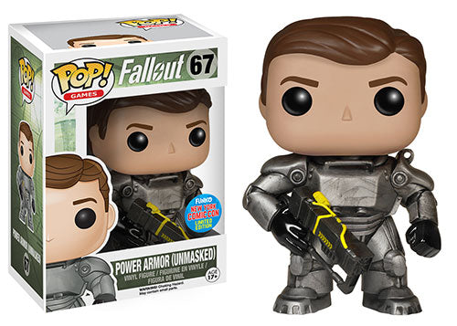 POP! Games Fallout Power Armor (Unmasked exclusive)