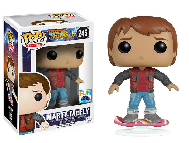 POP! Movies Back To The Future Marty McFly (Hoverboard)