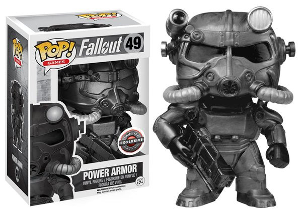 POP! Games Fallout Power Armor B&W (exclusive)
