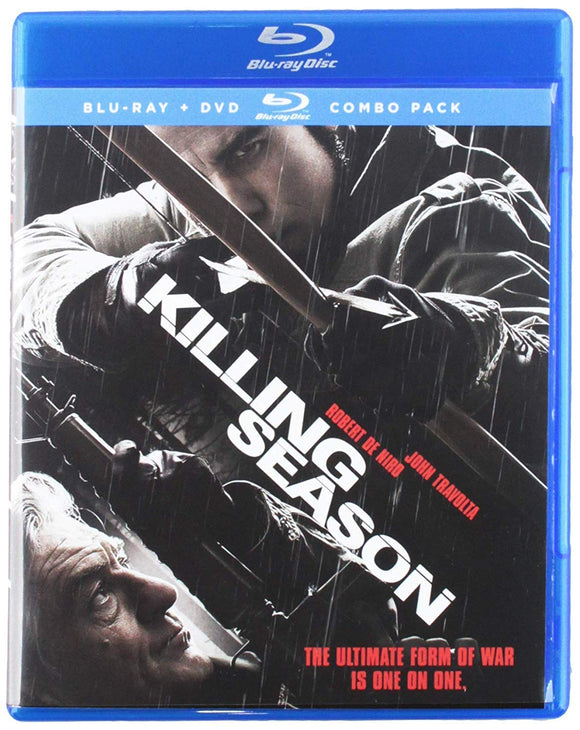 KILLING SEASON Blu-Ray + DVD Combo Pack