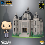 POP! Town Batman'S 80TH  WAYNE MANOR WITH ALFRED  (PRE-ORDER)