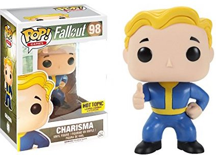POP! Games Fallout Vault Boy Charisma (exclusive)