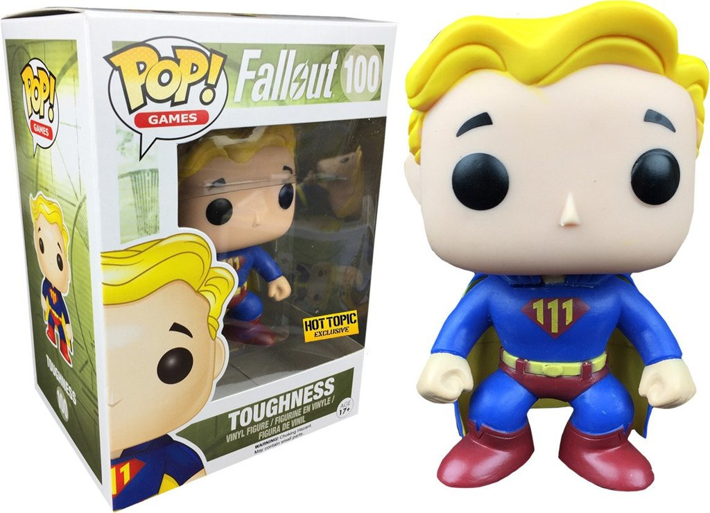 POP! Games Fallout Vault Boy Toughness (exclusive)