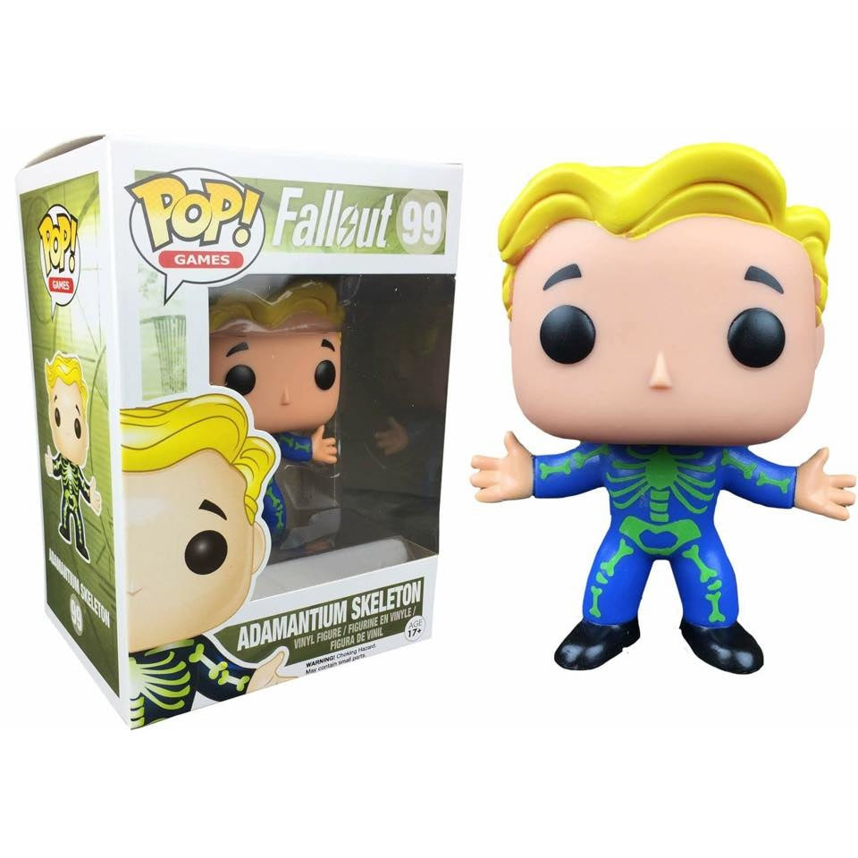 POP! Games Fallout Vault Boy Adamantium Skeleton (exclusive)