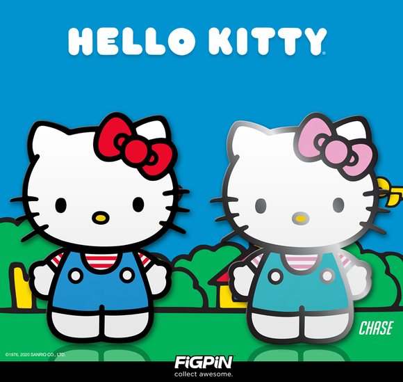 FiGPiN Classic: Sanrio - HELLO KITTY #360 & #361 Enamel Pin Bundle (PRE-ORDER)