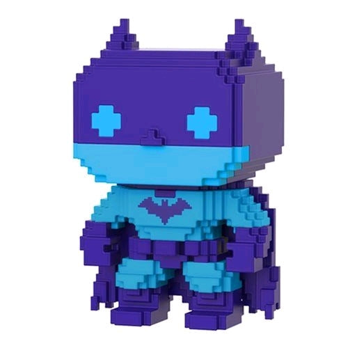 POP! Heroes Batman Video Game Deco 8-Bit (purple exclusive)