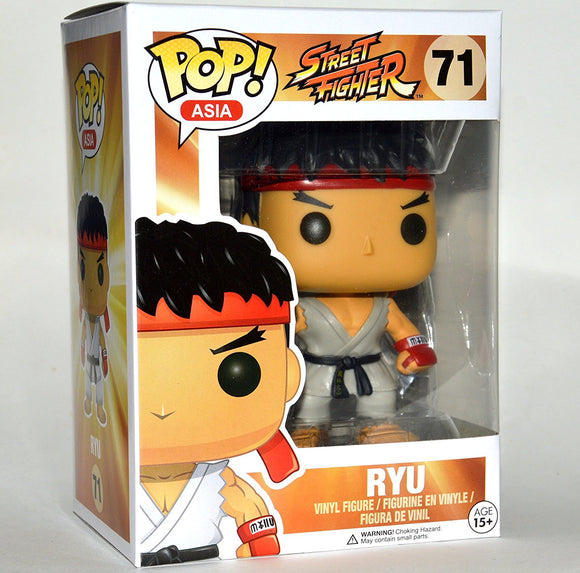 POP! Street Fighter Ryu (PRE-ORDER)