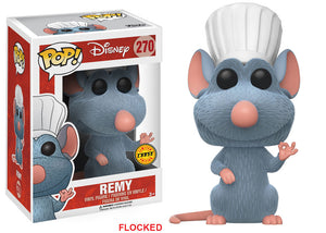 POP! Disney Remy (Flocked Chase)