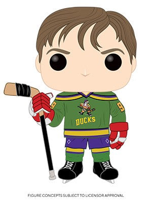 POP! Movies Mighty Ducks ADAM BANKS (PRE-ORDER)