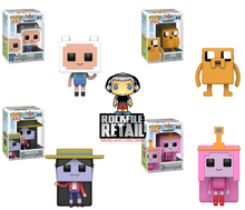 POP! Television Adventure Time / Minecraft 4-Pack Bundle