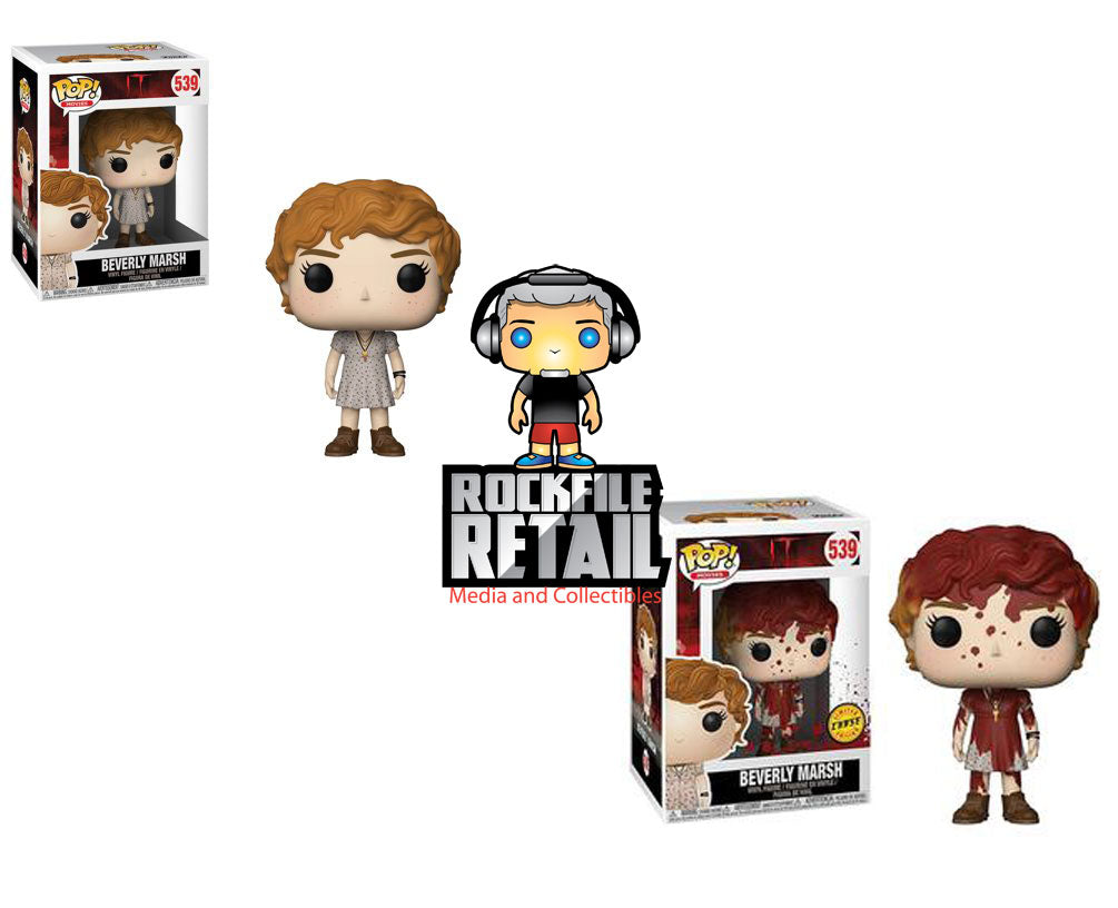 POP! Movies It Beverly Marsh w/ Key Necklace 2-Pack CHASE Bundle