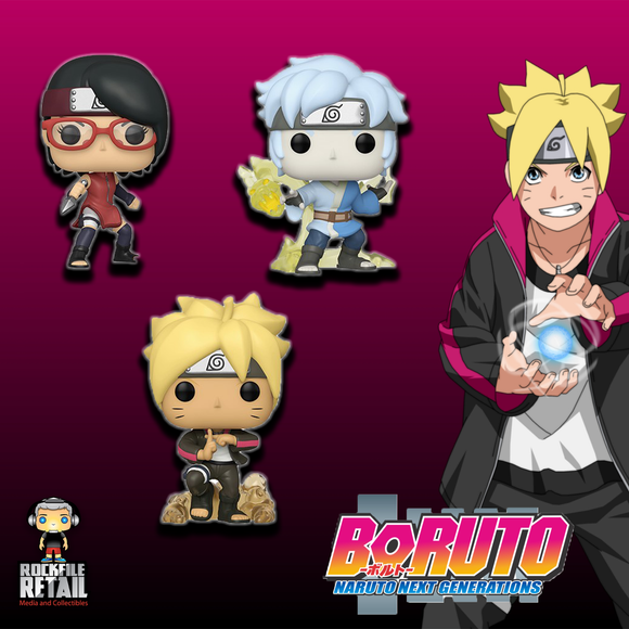 POP! Animation BORUTO NARUTO NEXT GENERATIONS BUNDLE (PRE-ORDER)