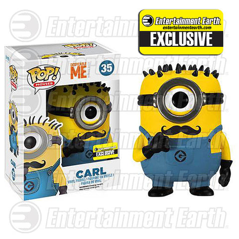 POP! Movies Despicable Me CARL (With Mustache)