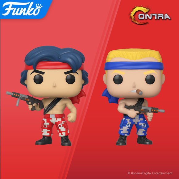 POP! Games CONTRA BUNDLE 2-Pack (PRE-ORDER)