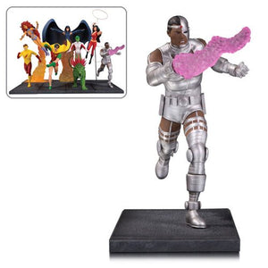 The New Teen Titans Cyborg Multi-Part Statue