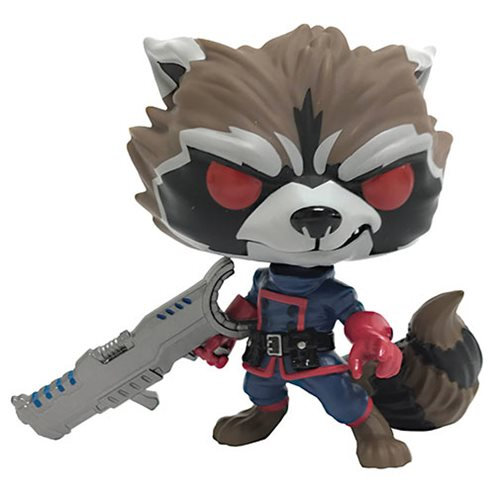 POP! Marvel Guardians Of The Galaxy Classic ROCKET RACCOON (Previews Exclusive)