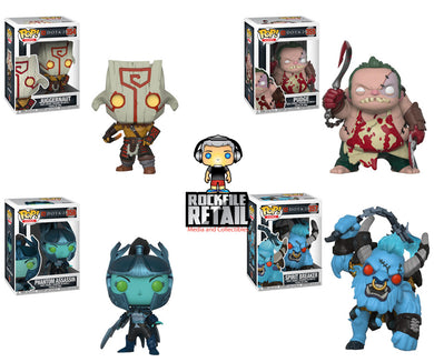 POP! Games DOTA 2 4-Pack Bundle