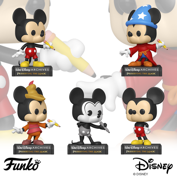 POP! Disney: Disney Archives Bundle 5-Pack (PRE-ORDER)