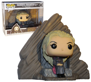 POP Deluxe: Game Of Thrones DAENERYS ON DRAGONSTONE THRONE