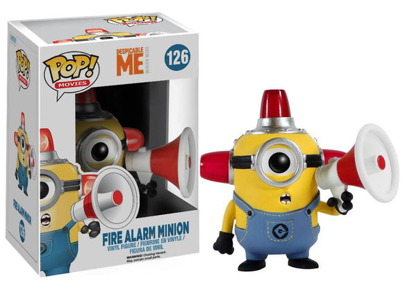 POP! Movies Despicable Me FIRE ALARM MINION