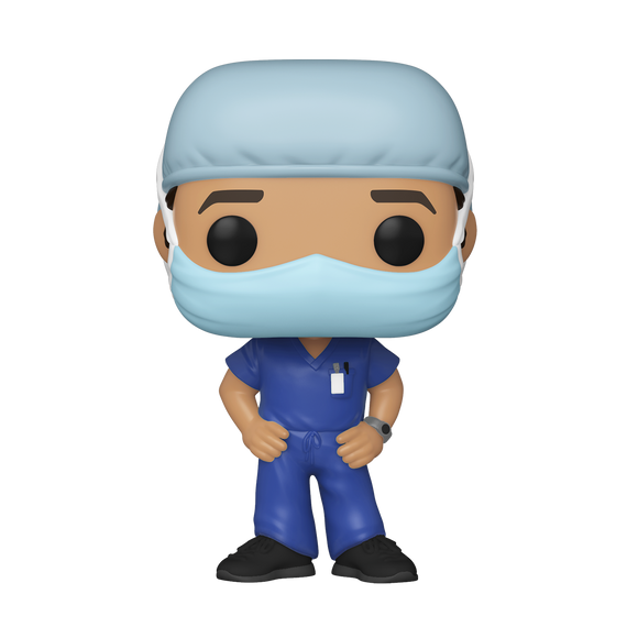 POP! Heroes Front-Line Workers MALE #1 (PRE-ORDER)