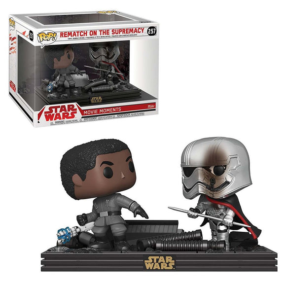 POP! Star Wars Movie Moments Rematch on the Supremacy